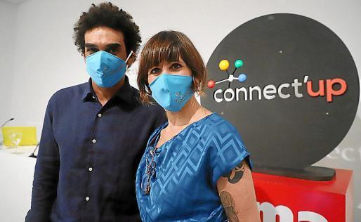 Marvin Singhateh y Tona Pou, los nuevos coordinadores de Connect'Up 2020.