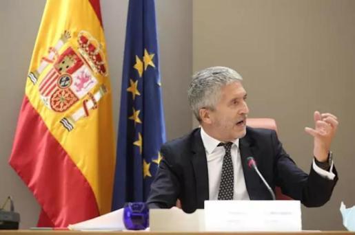 El ministro del Interior, Fernando Grande-Marlaska, durante un acto reciente - Eduardo Parra - Europa Press