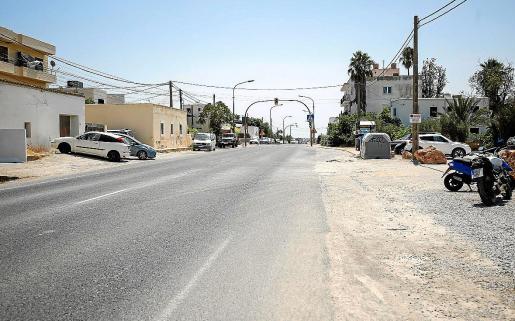 El tramo de la carretera de Ibiza que pasa por Jesús hasta Santa Eulària había sido siempre un problema por los atascos que generaba. Ahora, ha empeorado con las obras.