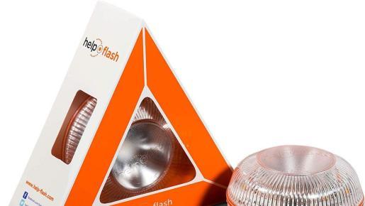 La DGT se planteó sustituir los triángulos por estas luces que aumenta la visibilidad de noche.