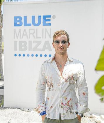 Mattia Ulivieri, director general de Blue Marlin Ibiza, minutos antes de la entrevista con Periódico de Ibiza y Formentera.