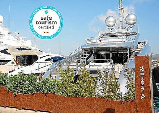 Marina Ibiza consigue el sello Safe Tourism y la Bandera Azul.
