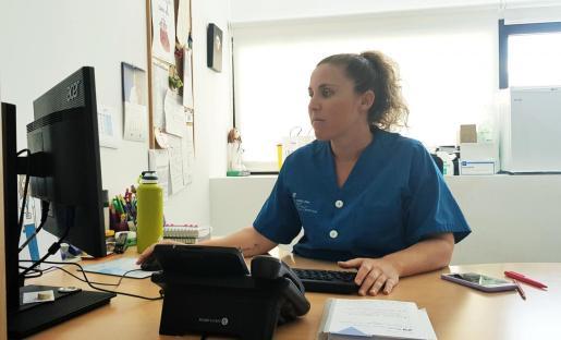 Sonia Navarro Camacho, enfermera especializada en enfermedades de transmisión sexual y supervisora de Consultas Externas.