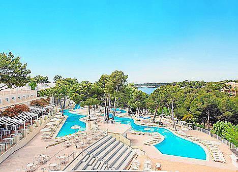 Imagen de las instalaciones del Club Cala Barca.