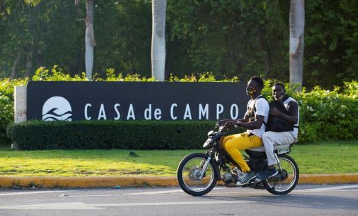 Vista del complejo hotelero Casa de Campo, en la localidad costera de La Romana.