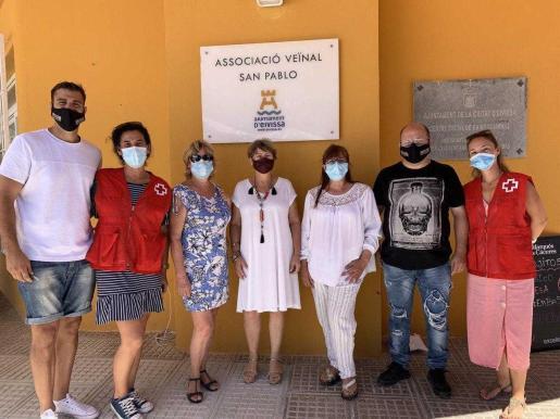 La asociación de vecinos San Pablo se ha sumado a la iniciativa solidaria.