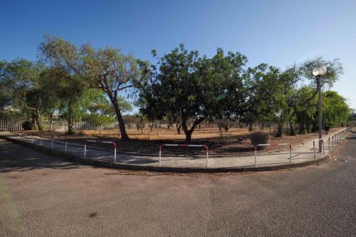 El futuro centro provisional de baja exigencia de Sa Joveria está ubicado en un solar contiguo al Recinto Ferial.