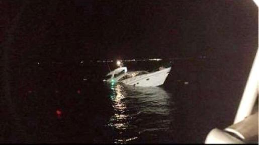 El Formentera Jet realizó el rescate de 17 personas.