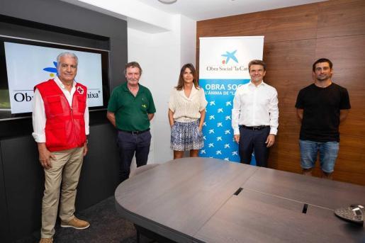 """Éxito del crowdfunding solidario de Fundación """"la Caixa"""", CaixaBank, Fundación Abel Matutes y Cooperativa AgroEivissa a favor de Creu Roja Eivissa."""