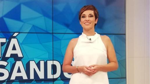 La presentadora anunciaba a través de sus redes su regreso poco antes de comenzar la emisión.