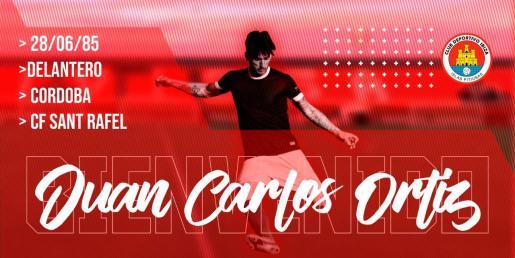 Imagen promocional del CD Ibiza de Juan Carlos Ortiz