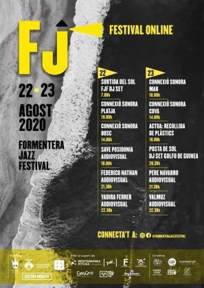 Cartel del Formentera Jazz Festival.