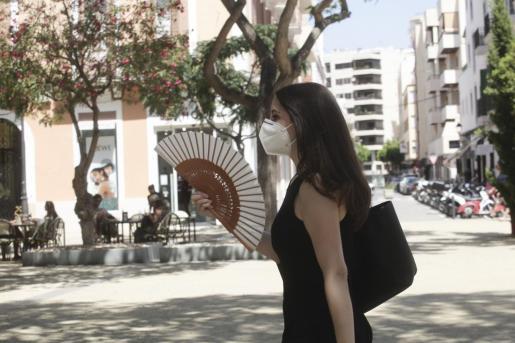Otro día de sofocante calor en Ibiza.