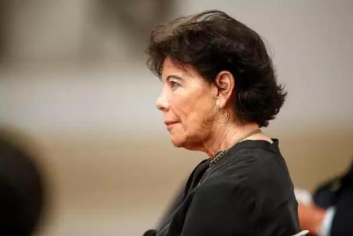 La ministra de Educación y Formación Profesional, Isabel Celaá - Óscar J.Barroso - Europa Press - Archivo