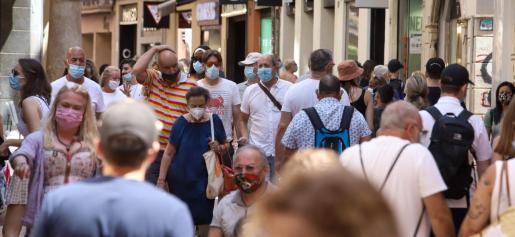 El uso de mascarillas es obligatorio en Baleares, salvo excepciones