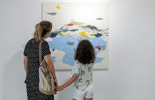 La muestra acoge un total de 36 obras con una gran fuerza expresiva y que, en ocasiones, se acercan a la abstracción.