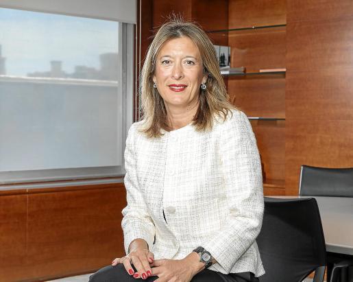 La directora territorial la entidad financiera en Baleares, María Cruz Rivera.