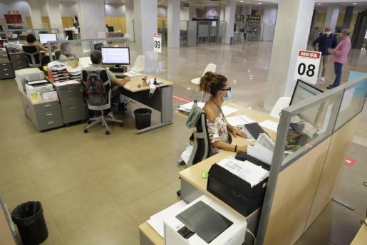 Imagen de una oficina en Palma.