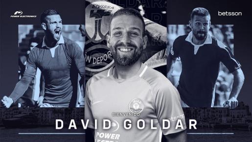 David Goldar ya es nuevo jugador de la UD Ibiza.