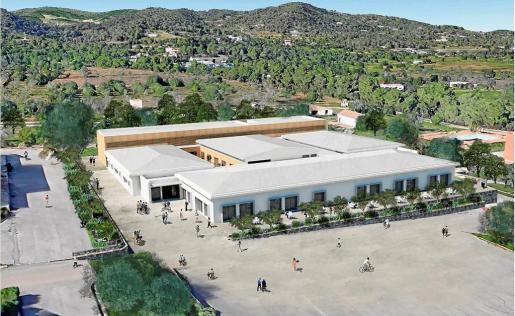 La antigua cantina militar de Sa Coma se convertirá en la nueva Escuela de Hostelería de Eivissa, un espacio de 4.451 metros cuadrados con diferentes aulas de formación.