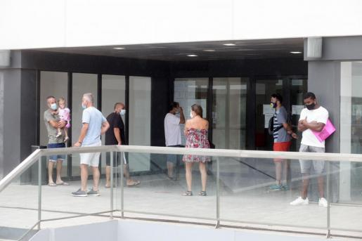 Oficinas del SEPE, en Ibiza.