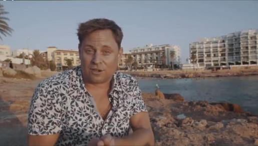 Mark Doyle, en una captura de 'Catflix'.