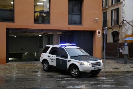 La Guardia Civil trasladó al adolescente desde Es Pinaret al juzgado de Menores.