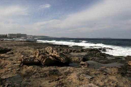 Una vista general de la zona de Punta Xinxó