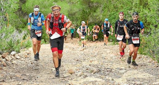 Un instante de anteriores ediciónes del Ibiza Trail Maratón.