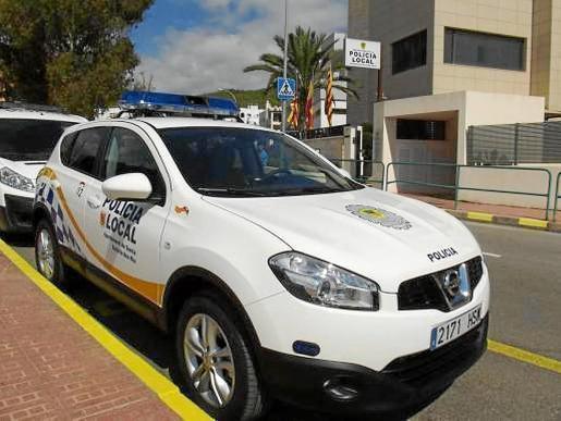 El individuo fue interceptado y detenido por una patrulla de la Policía Local de Santa Eulària.