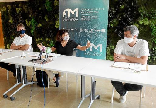 La segunda edición del Foro Marino fue presentada ayer en rueda de prensa.