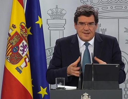 El ministro de Inclusión, Seguridad Social y Migraciones, José Luis Escrivá Belmonte.