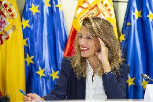 La ministra de Trabajo y Economía Social, Yolanda Díaz.