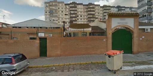 Imagen de Google Maps del colegio Juan Luis Vives de Huelva.