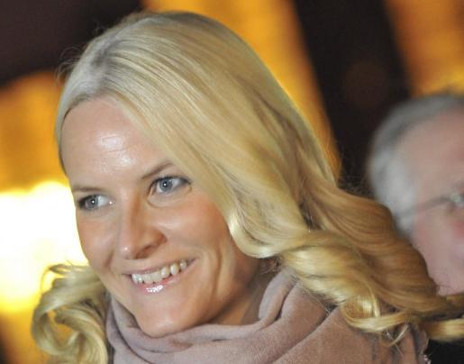 Imagen de archivo de la princesa Mette-Marit de Noruega.
