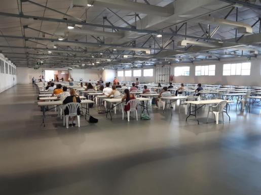 Pruebas de selectividad 2020 en Baleares, con medidas especiales por el COVID-19.