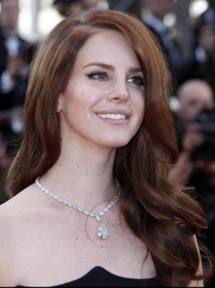 La cantante estadounidense Lana Del Rey.