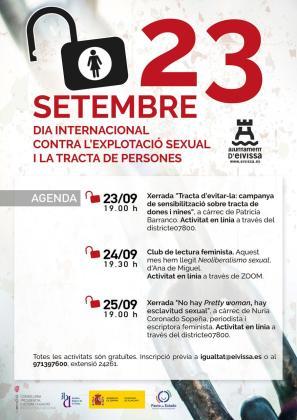 Programa de actividades por el Día contra la explotación sexual y la trata de personas .