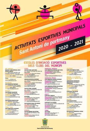 Aplazado el inicio de las escuelas deportivas municipales de Sant Antoni.