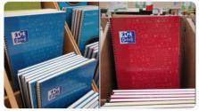 Los nuevos cuadernos de Oxford abren el debate en redes: ¿De qué color es la libreta de cada asignatura?
