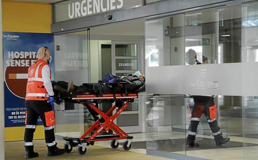 Durante el confinamiento apenas hubo urgencias no COVID en los hospitales.