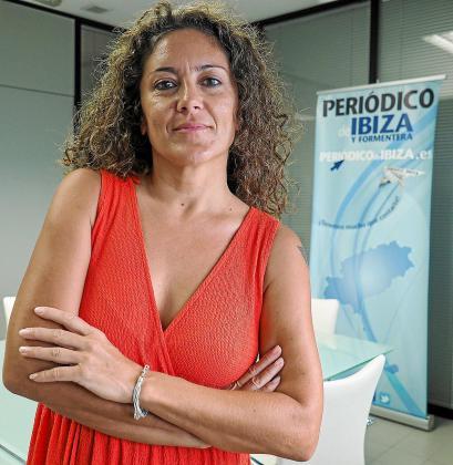 La comisaria del Festival Internacional de Performance Art Territori, Isa Sanz.