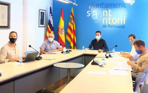 Pleno del Ayuntamiento de Sant Antoni.