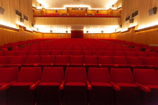 Interior del Cine Regio.