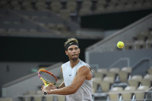 Rafael Nadal afronta con «ilusión» su defensa en París del Roland Garros.