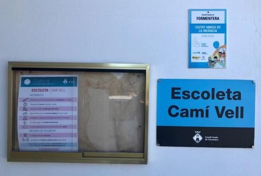 Escoleta Camí Vell de Formentera.
