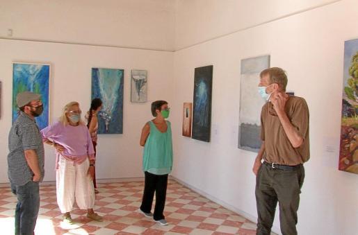 La muestra 'Orígens' se puede visitar hasta el próximo 10 de octubre en Formentera.