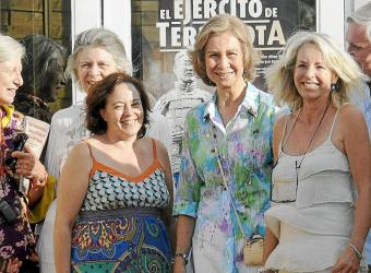 PALMA REINA TRAS VISITAR EL EJERCITO DE TERRACOTAFOTO JOAN LLADO