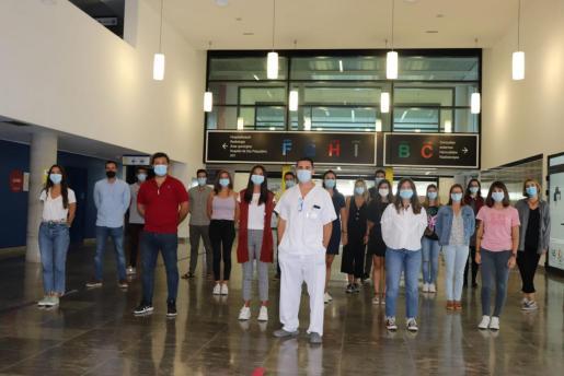 El equipo directivo ha dado la bienvenida a 24 profesionales sanitarios.