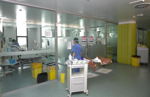 Imagen de la UCI del hospital de Son Espases.